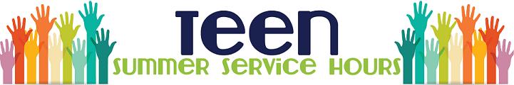Teen Summer Service Hours